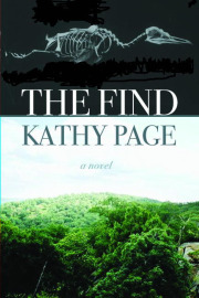 book jacket of The FIND, a novel by Kathy Page