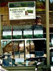 Salt Spring Books diosplays The Find